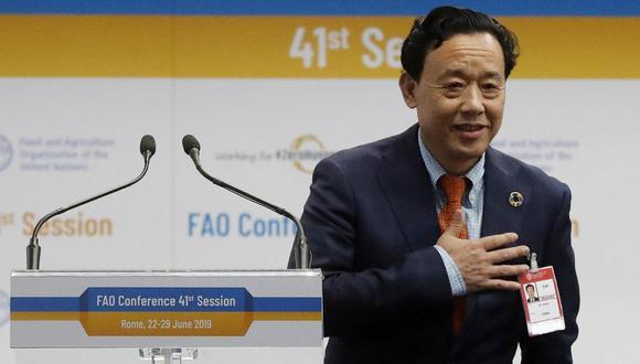 El nuevo director chino de la FAO Qu Dongyu. (EFE)