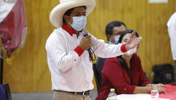 Pedro Castillo , afirmó que participará en todos los debates que haya que participar en las Elecciones 2021. (Foto: GEC)