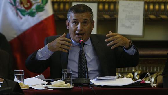 Dirigente minero Walter Chanduví dijo que Daniel Urresti cobró cupos cuando fue comisionado de la Presidencia del Consejo de Ministros. (Rafael Cornejo)