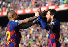 "Messi despidió a Vidal con emotivo mensaje: ""El vestuario te va a extrañar"""