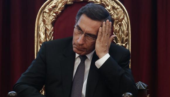 Martín Vizcarra brindará un mensaje hoy tras la confianza otorgada al Gabinete Martos