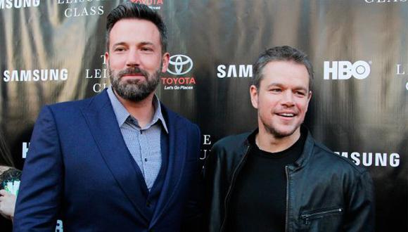 Ben Affleck y Matt Damon son amigos desde que eran jóvenes. (SHUTTERSTOCK)