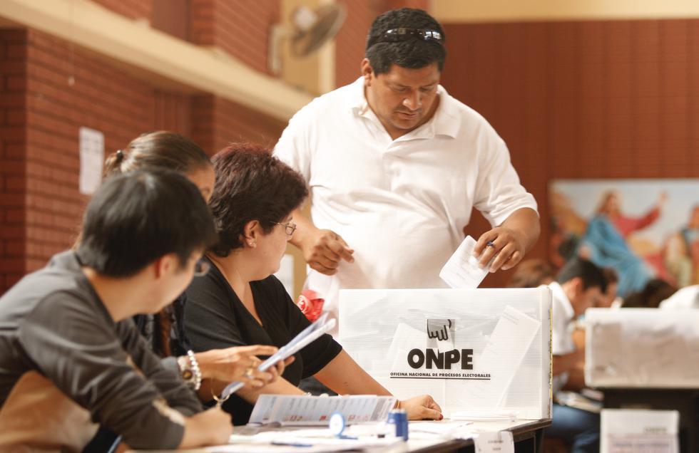 Las Elecciones Regionales y Municipales se realizarán este domingo 7 de octubre.