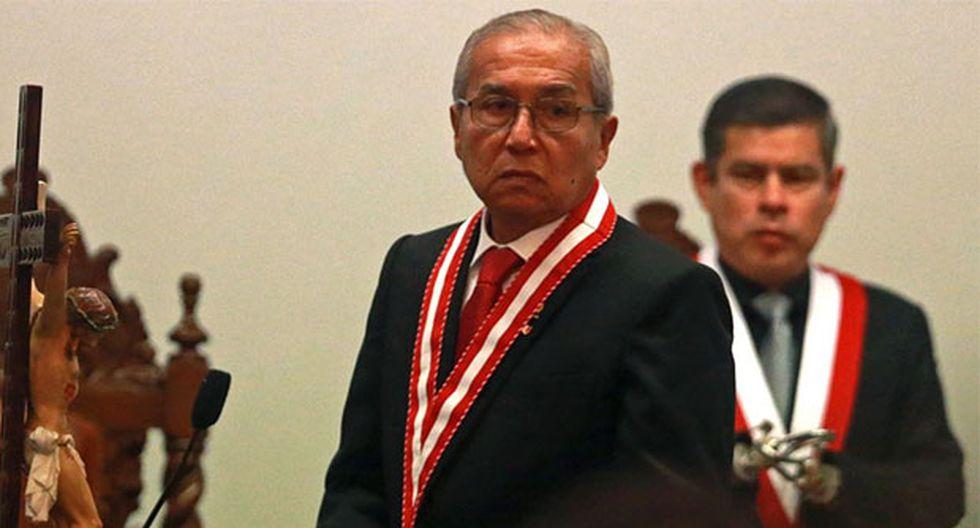 El fiscal de la Nación indicó que reiterará a los fiscales del Equipo Especial su solicitud de información sobre los casos que manejan. (Foto: Agencia Andina)