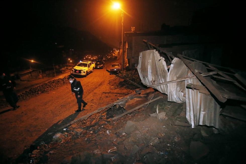 Un sismo de magnitud 6.0 se produjo en Mala, región de Lima, la noche del martes 22 de junio. Como consecuencia del movimiento telúrico. un niño de 6 años perdió la vida en la localidad de Chilca. La madre, del menor indicó que su hijo sufría de ataques de epilepsia y que se asustó ante la intensidad del temblor. (Fotos: César Campos / @photo.gec)
