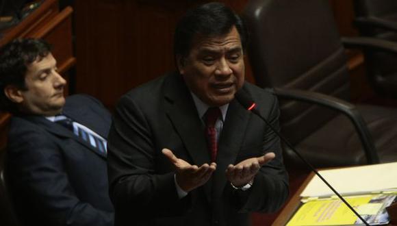 """Contraataca. """"Informe nos avergüenza a legisladores"""", sostiene. (Rafael Cornejo)"""