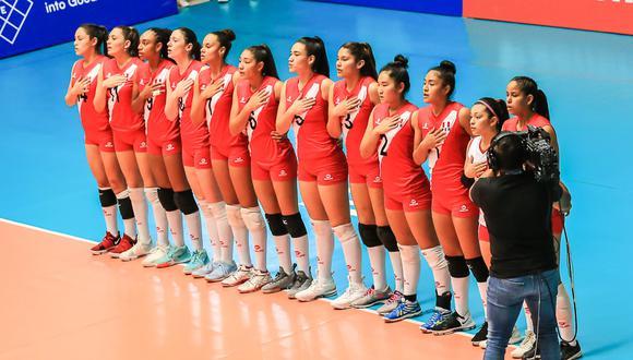 Perú busca ubicarse entre los 10 primeros del Campeonato Mundial de Vóley. (Foto: FIVB)