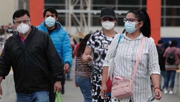 Más de 4800 empresas importaron mascarillas entre enero y setiembre (Foto referencial GEC)