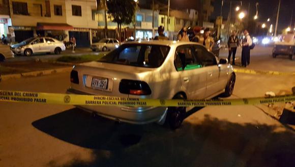 Policía abatió a delincuente durante intervención en el Callao. (Foto: PNP)