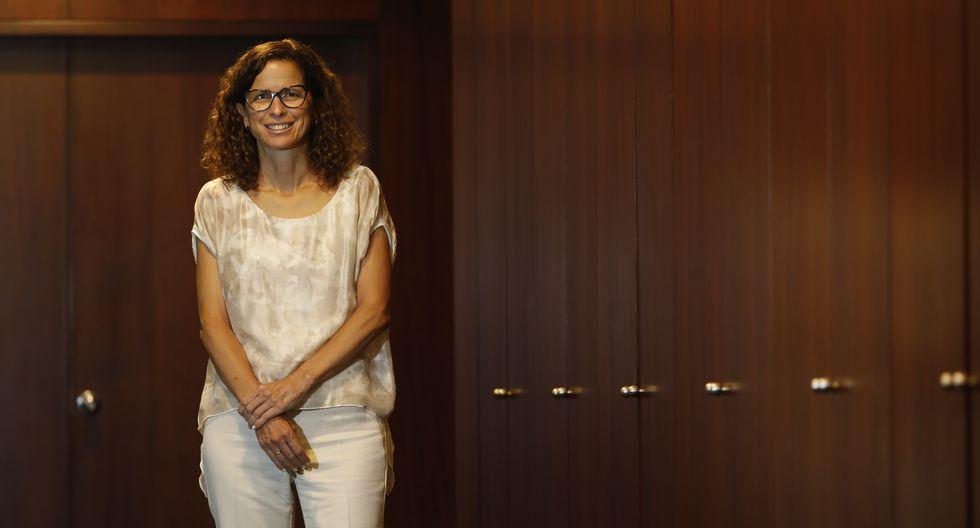 Conversamos con Ingrid Claudet, gerenta general de la Fundación Wiese. (Perú21/ Piko Tamashiro)