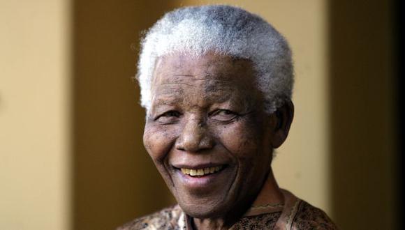 Nelson Mandela falleció hoy a los 95 años en Sudáfrica. (AFP)