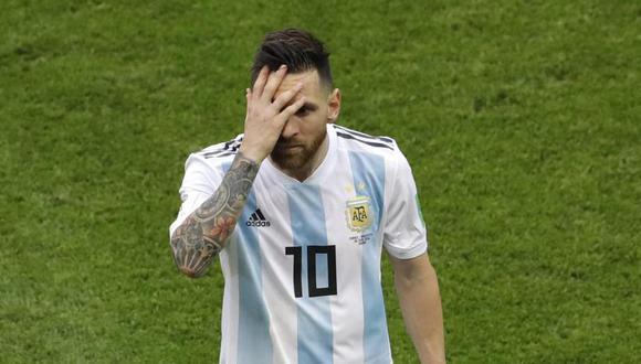 Lionel Messi no jugará con Argentina en setiembre próximo. (Foto: AP).