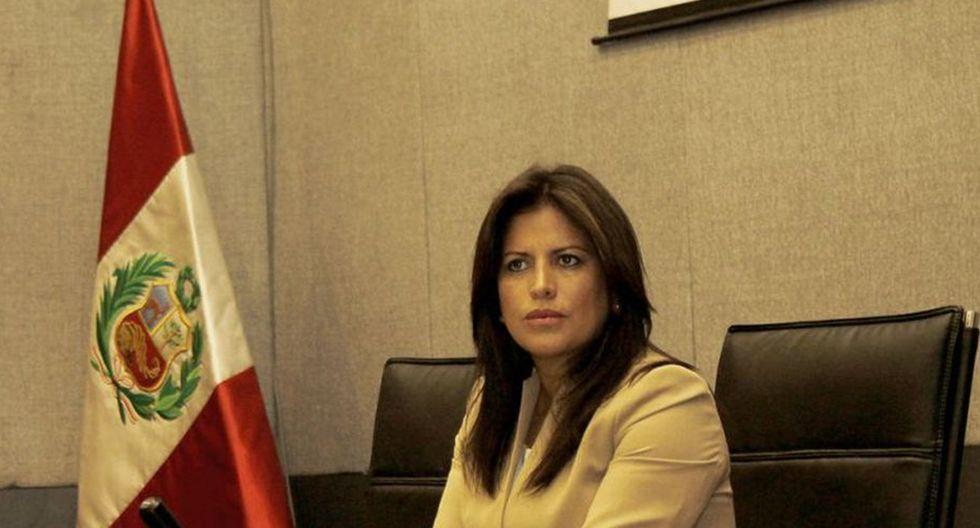 Carmen Omonte respaldó propuesta para liberar la cuarta parte de los fondos de pensiones (Foto: GEC)