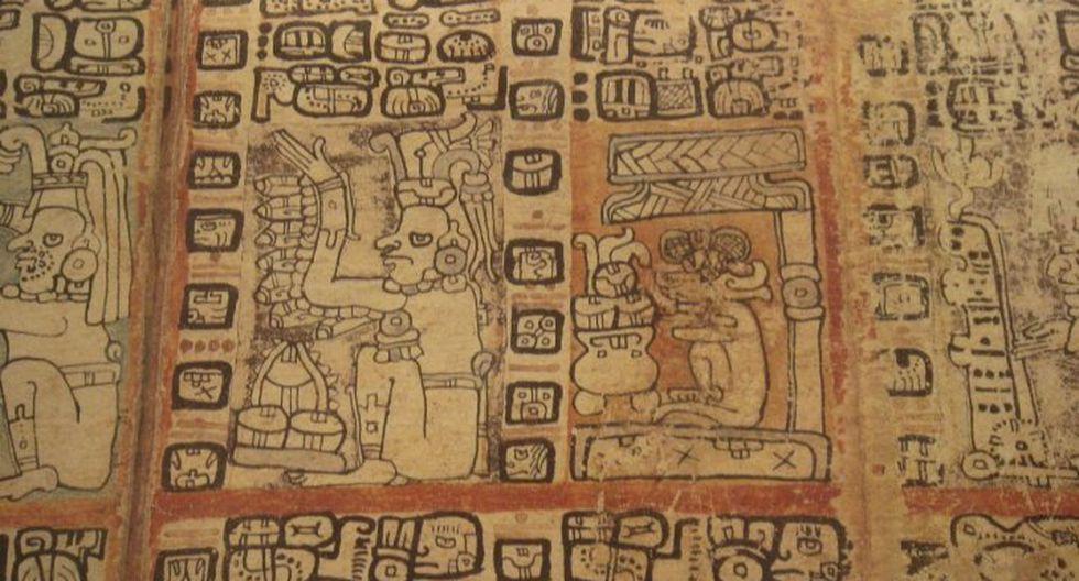 """Un texto pictográfico maya elaborado entre 1021 y 1154 d.C. es el texto prehispánico más antiguo del que se tenga noticia y ahora llevará el nombre de """"Códice Maya de México"""". (Foto: EFE)"""