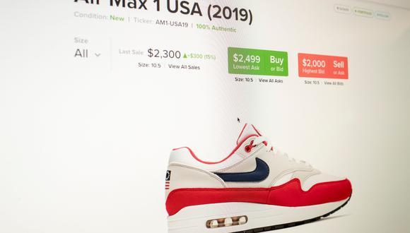 Nike había enviado el modelo a los puntos de venta pero pidió que fuera regresado y lo retiró también de su página web, según The Wall Street Journal. (Foto: Reuters)