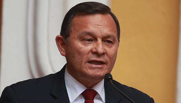 El canciller Néstor Popolizio ratificó el apoyo del Perú al presidente encargado de Venezuela, Juan Guaidó. (Foto: GEC)