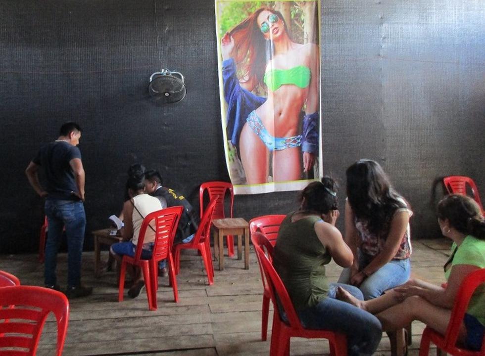 Menores fueron víctimas de explotación laboral y sexual en bar de Madre Dios. (Ministerio Público)