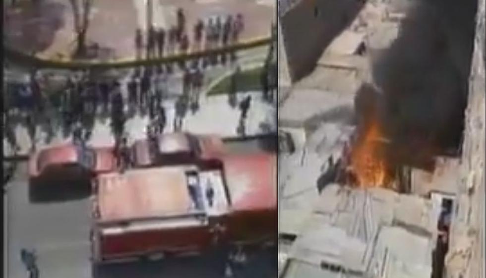 Incendio se registra en Surco.