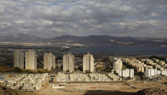 Una imagen muestra la ciudad turística de Eilat. (AFP/MENAHEM KAHANA).