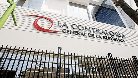 La Policía Contra la Corrupción llegó a la sede de la Contraloría el viernes 8 de mayo para incautar documentos por una compra de mascarillas, alcohol y guantes. (Foto: GEC)