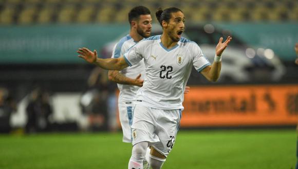 Uruguay vs. Tailandia se miden en la final de la China Cup 2019. (Foto: AFP)