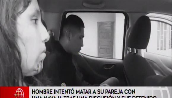 Detienen a hombre intento matar a su pareja con una navaja tras una discusión.