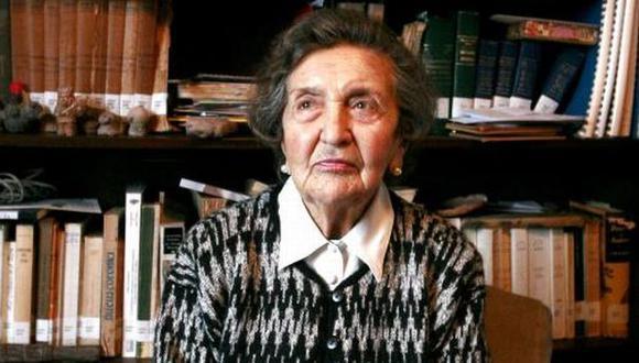 María Rostworowski integró el grupo fundador del IEP. (FIL)