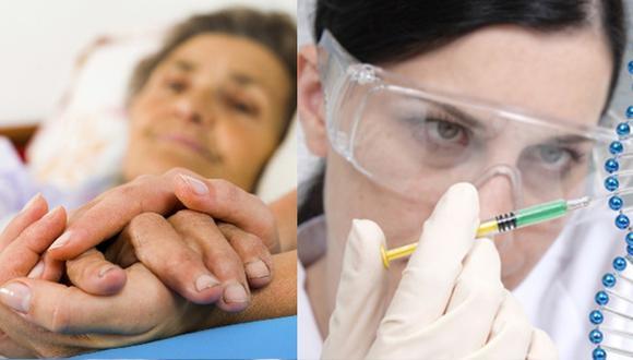 Alzheimer: Compañía puede detectarla a futuro con una muestra de saliva (Composición)