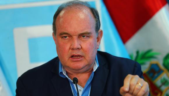 Rafael López Aliaga también anunció que será candidato presidencial en las elecciones generales del 2026. (Foto: GEC)