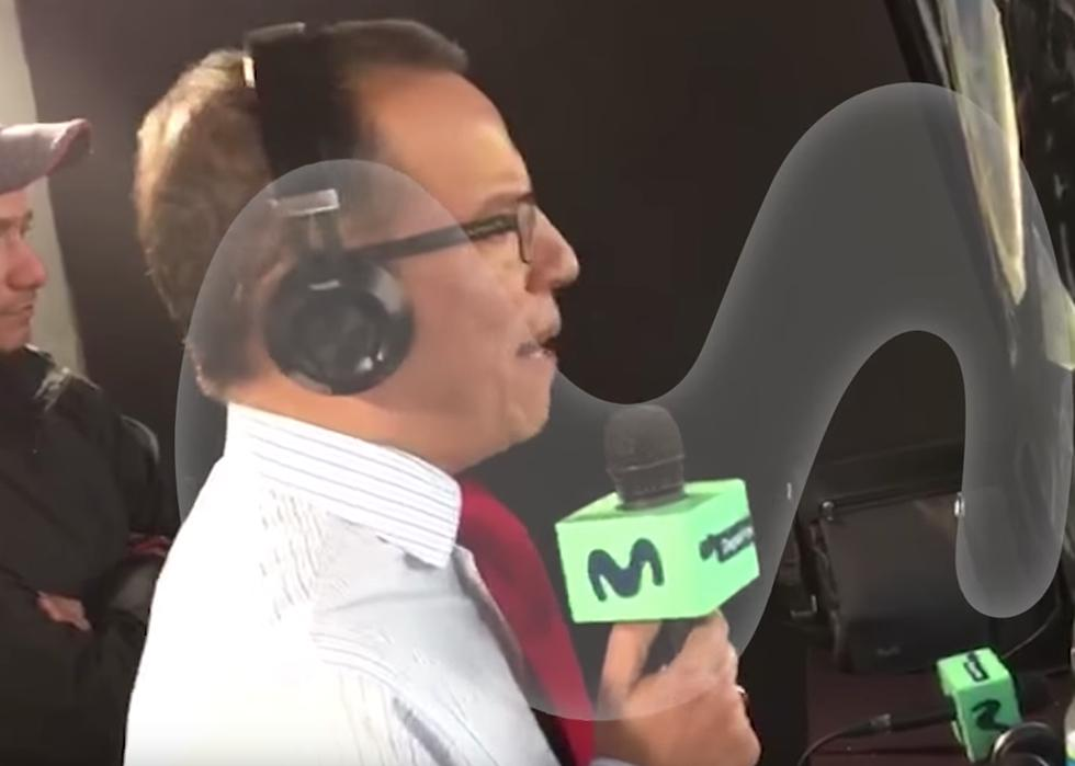Daniel Peredo se emocionó hasta las lágrima por la clasificación de Perú. (YouTube)