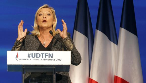 Marine Le Pen, líder del frente. (Reuters)