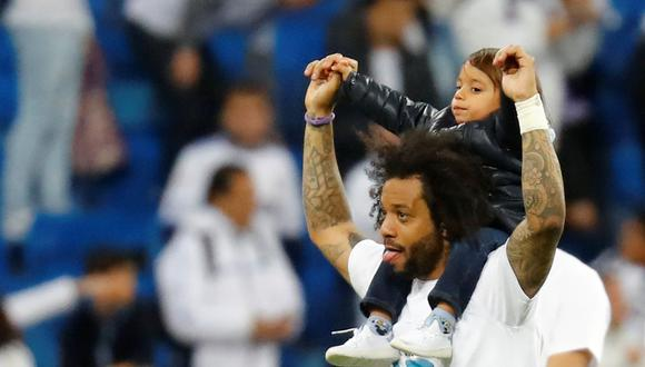 Con Marcelo en cancha, Real Madrid empató 2-2 frente a Bayern Munich y clasificó a su tercera final consecutiva en la Champions League. (REUTERS)