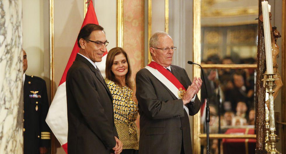 PPK, Martín Vizcarra y Mercedes Aráoz (USI)