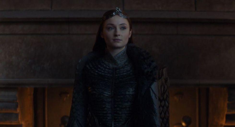 """""""Game of Thrones"""": Sophie Turner dice que la petición para rehacer la temporada 8 es """"irrespetuosa""""(Foto: Game of Thrones / HBO)"""