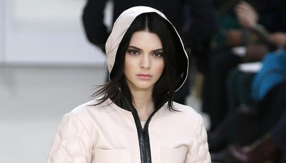 Kendall Jenner subió dicha foto a Instagram Stories. (Foto: AFP)