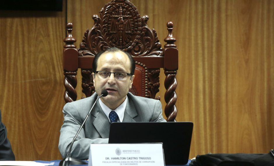 Hamilton Castro fue removido como líder del equipo especial del Ministerio Público. (USI)
