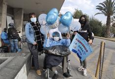Anciano de 80 años vence al COVID-19 tras permanecer 40 días internado en Hospital Honorio Delgado de Arequipa