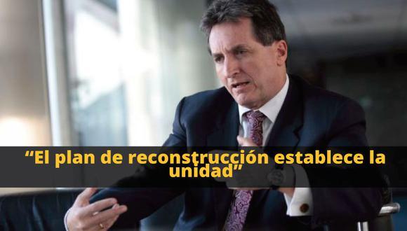 Pablo de la Flor: 'Plan de reconstrucción estaría listo en tres meses'