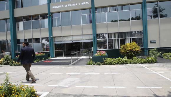 Ministerio de Energía y Minas. (Foto: Carolina Urra / GEC)