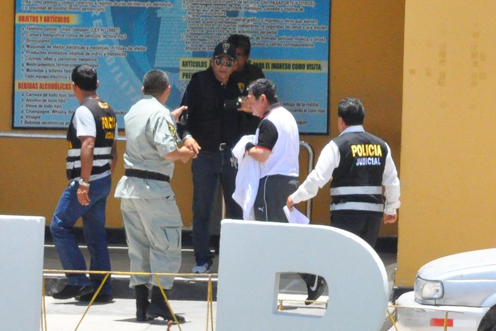 Máxima autoridad regional fue internada en el penal de Pocollay. (Perú21)