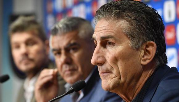 Bauza defendió a los seleccionados argentinos. (Agencias)