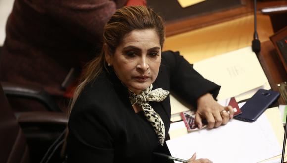 Maritza García fue una de las congresistas que renunció a Fuerza Popular con Kenji Fujimori. (Foto: GEC)