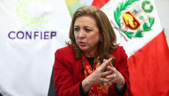 María Isabel León se reunió en la víspera con el presidente Martín Vizcarra. (Foto: GEC)