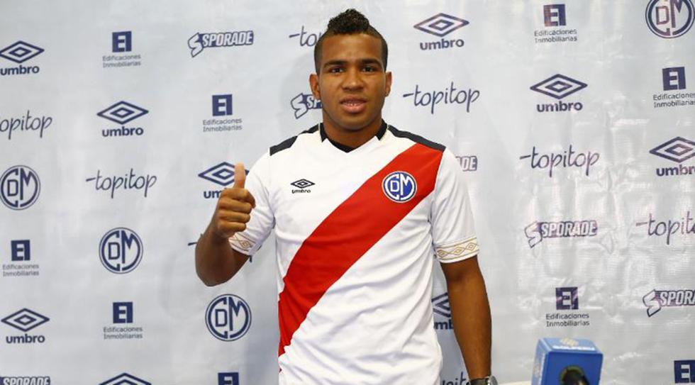 José Murillo, volante panameño, fue presentado en Deportivo Municipal. (Foto: Francisco Neyra/GEC)