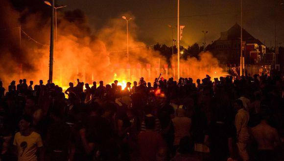 Irak ha sido escenario de movilizaciones desde principios de octubre y el pasado viernes las protestas se reactivaron, sobre todo en Bagdad y zonas del sur. (Foto referencial: AFP)