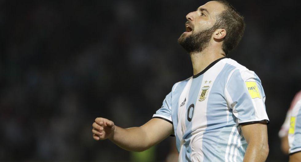 Gonzalo Higuaín no jugaba por la selección desde junio de 2017. (AP)