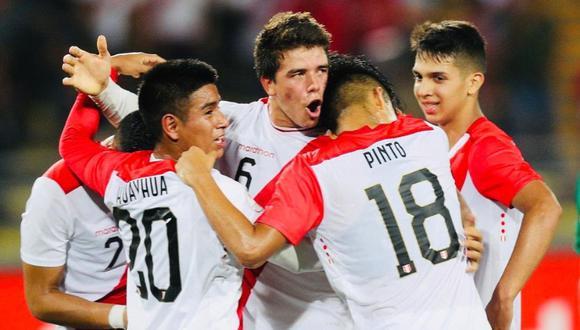 Perú vs. Uruguay. (Twitter: @SeleccionPeru)