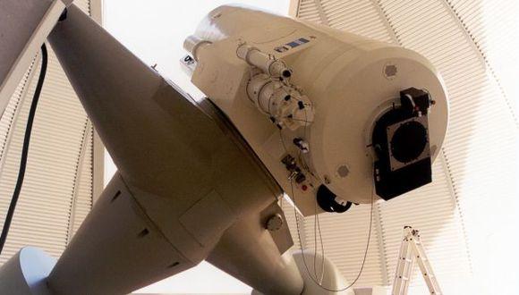 Telescopio de ESA que recibe los reportes de colaboradores aficionados. (Fuente: ESA)