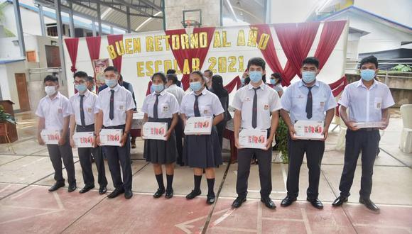Colegios públicos de región amazónica iniciaron clases de manera virtual (Foto: GORE Madre de Dios)