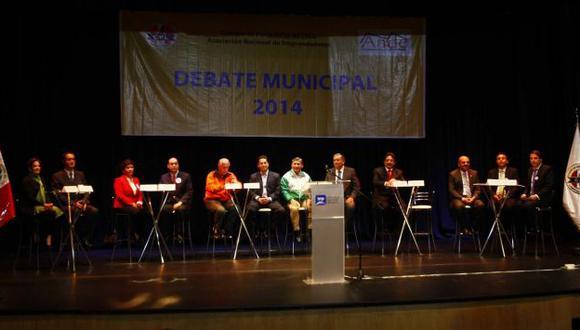 JNE plantea debate entre candidatos a la Alcaldía de Lima para el 28 de setiembre. (Perú21)